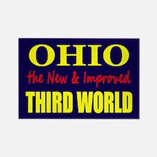 Ohio New 3rd World Rectangle Magnet
