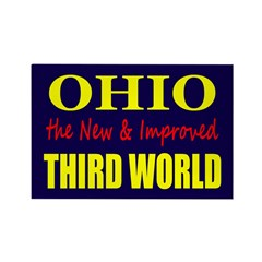 Ohio New 3rd World Rectangle Magnet (10 pack)