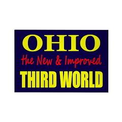 Ohio New 3rd World Rectangle Magnet (10 pack)
