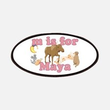 M is for Maya Patches
