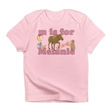 M is for Melanie Infant T-Shirt