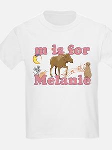M is for Melanie T-Shirt