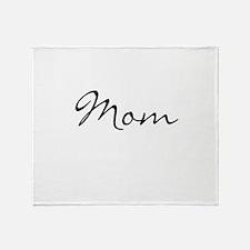 Mom Simple Throw Blanket