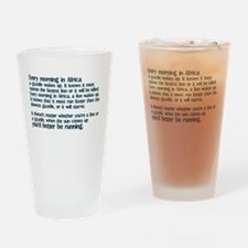 Morning in Africa Pint Glass