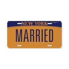 New York Marriage Equality Aluminum License Plate