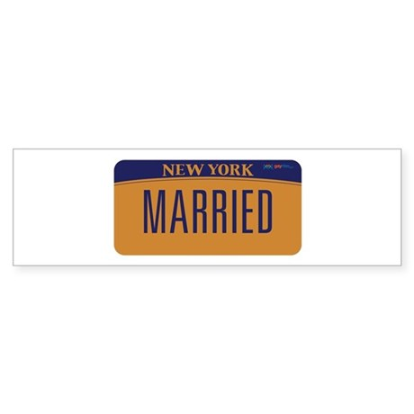 New York Marriage Equality Sticker (Bumper)