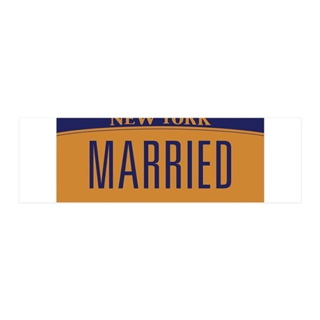 New York Marriage Equality 36x11 Wall Decal