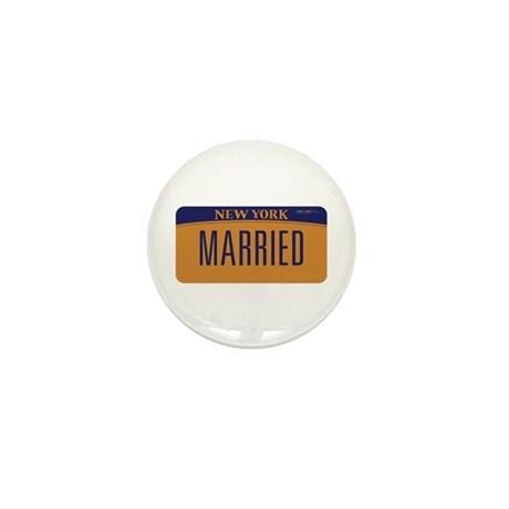 New York Marriage Equality Mini Button