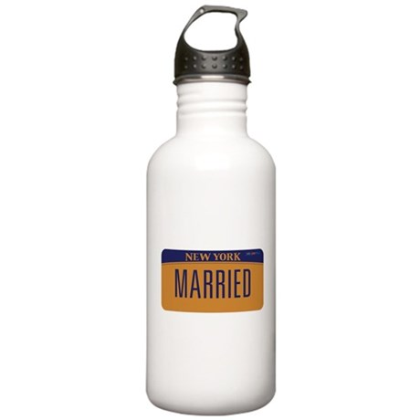 New York Marriage Equa Stainless Water Bottle 1.0L