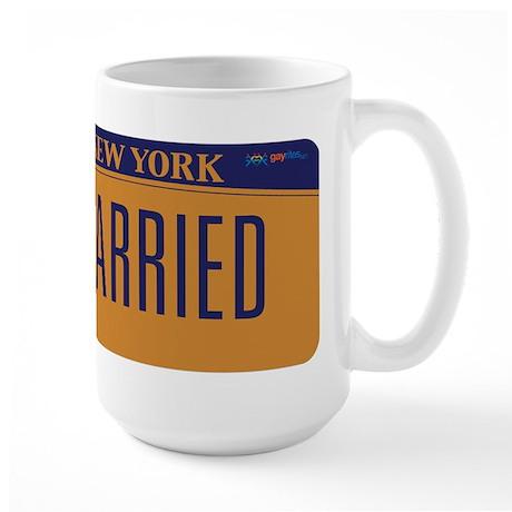 New York Marriage Equality Large Mug