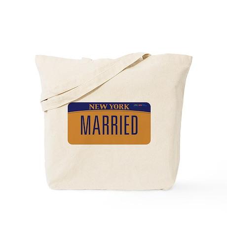 New York Marriage Equality Tote Bag
