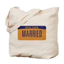 New York Marriage Equality Tote Bag