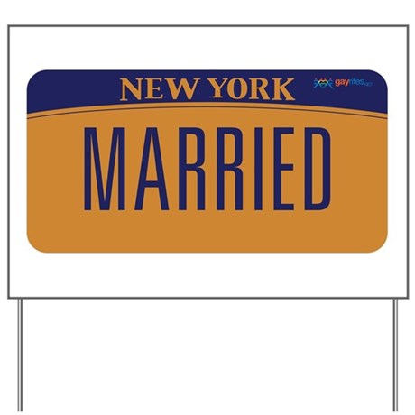 New York Marriage Equality Yard Sign