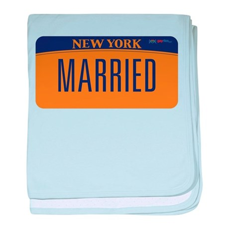 New York Marriage Equality baby blanket
