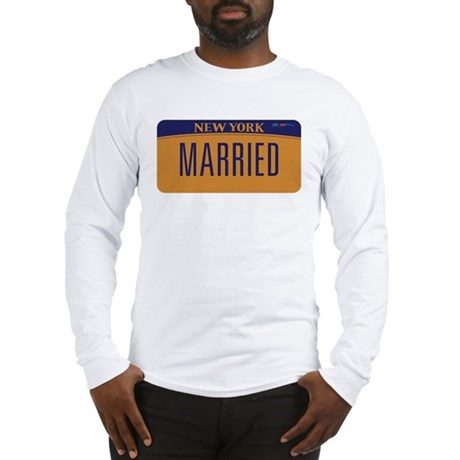 New York Marriage Equality Long Sleeve T-Shirt