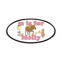 M is for Molly Patches