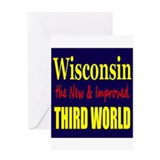 Wisconsin New 3rd World Greeting Card