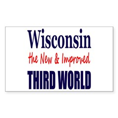 Wisconsin New 3rd World Decal