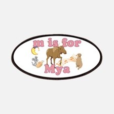 M is for Mya Patches