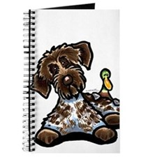 Funny Pointing Griffon Journal