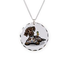 Funny Pointing Griffon Necklace