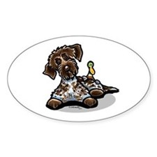 Funny Pointing Griffon Decal