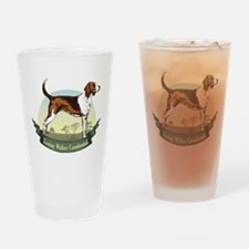 Treeing Walker Coonhound: Ban Pint Glass