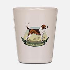 Treeing Walker Coonhound: Ban Shot Glass