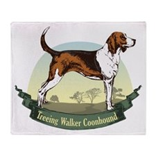Treeing Walker Coonhound: Ban Throw Blanket