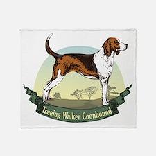 Treeing Walker Coonhound: Ban Throw Blanket