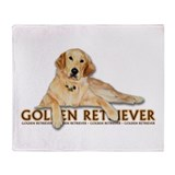Golden retreiver Blankets