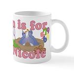 N is for Nicole Mug