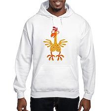 Loony Chicken Jumper Hoody