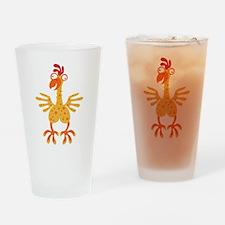 Loony Chicken Pint Glass