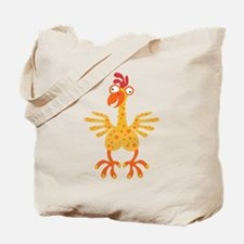 Loony Chicken Tote Bag