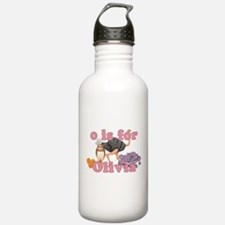 O is for Olivia Water Bottle