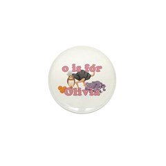 O is for Olivia Mini Button (10 pack)