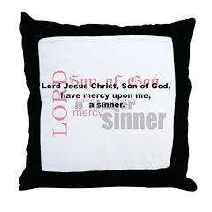 Jesus Prayer Throw Pillow