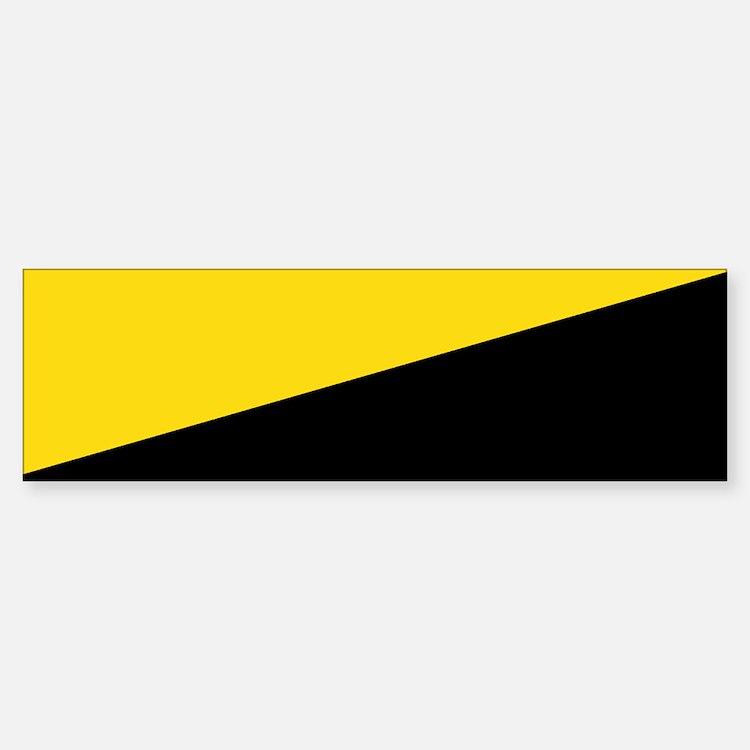 AnCap Flag Bumper Bumper Sticker