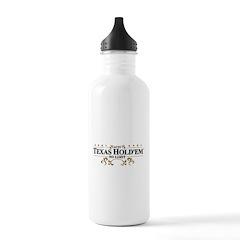 Aces Texas Hold'em No Limit Water Bottle