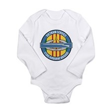 Vietnam 173rd Airbone CIB Long Sleeve Infant Bodys