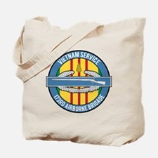 Vietnam 173rd Airbone CIB Tote Bag