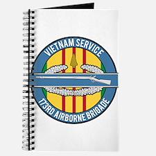 Vietnam 173rd Airbone CIB Journal