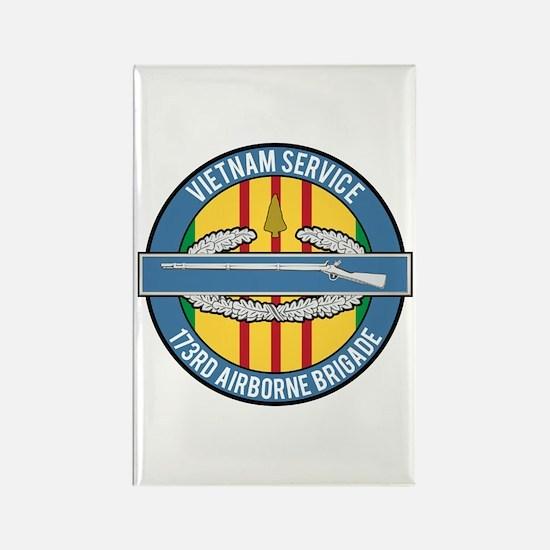 Vietnam 173rd Airbone CIB Rectangle Magnet