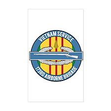 Vietnam 173rd Airbone CIB Decal
