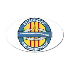 Vietnam 173rd Airbone CIB 22x14 Oval Wall Peel
