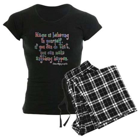 Magic Believe Women's Dark Pajamas