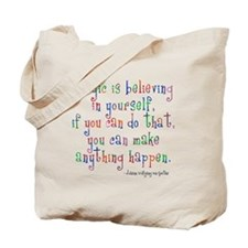 Magic Believe Tote Bag