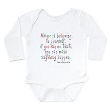 Magic Believe Long Sleeve Infant Bodysuit
