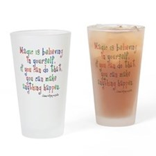 Magic Believe Pint Glass